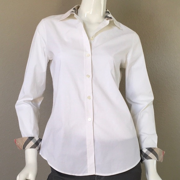 Burberry Tops - Burberry Button-Up Nova Check Cuffs Shirt